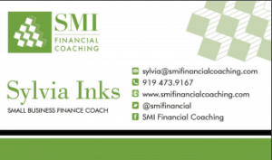 pic of SMI business card