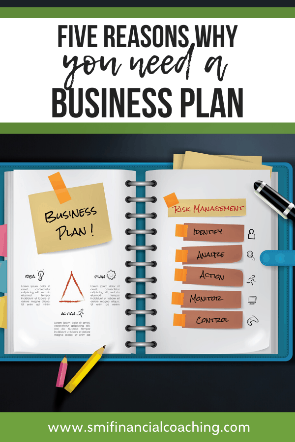 Pin graphic why you need a business plan