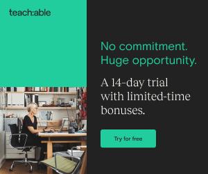 Teachable free trial