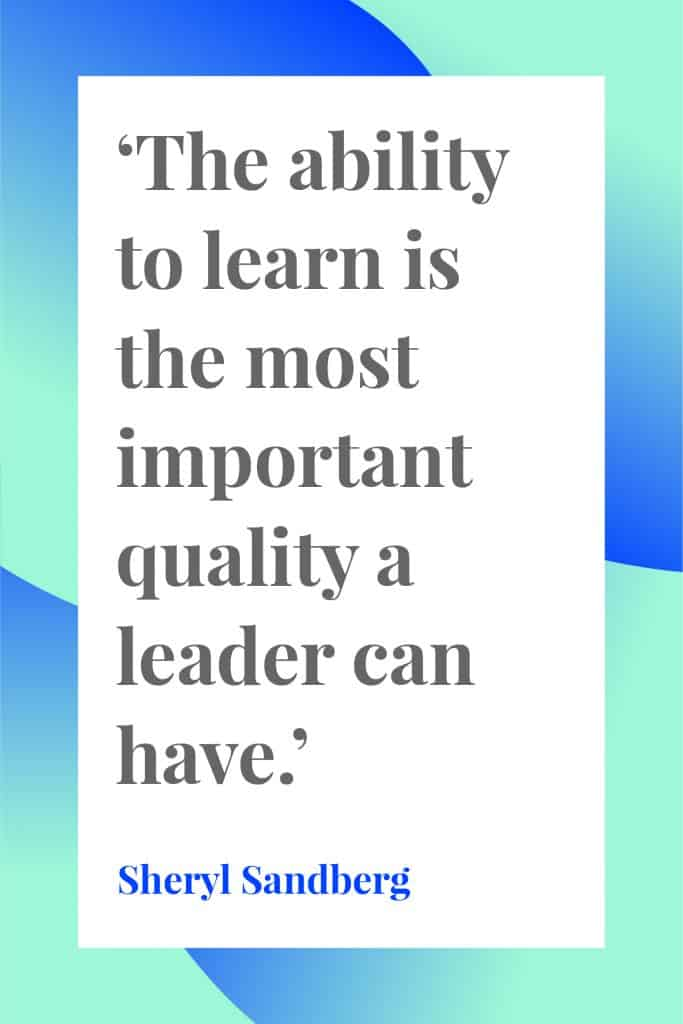 female quote about leadership