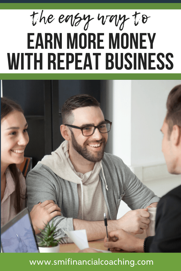 freelancer meeting with repeat customers